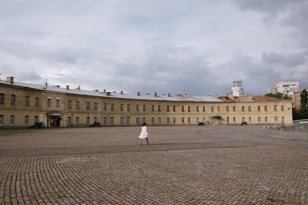Косой капонир в Киеве