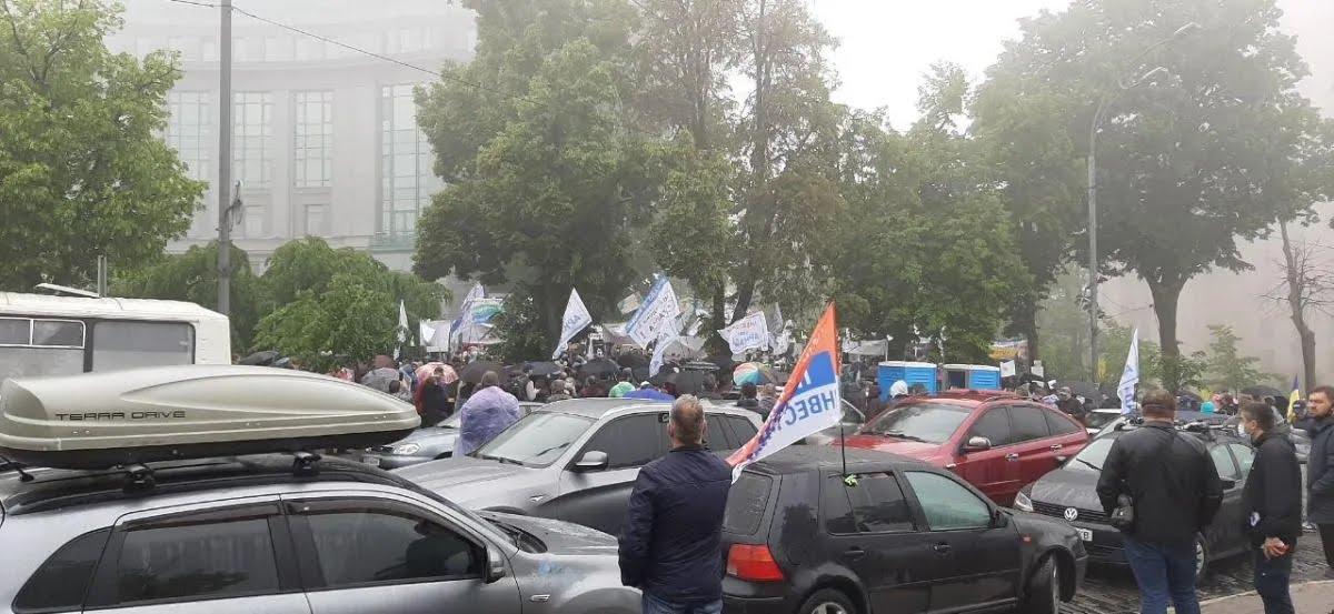 Протест инвесторов жилья