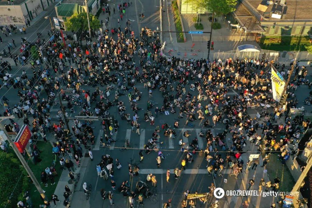 Протесты в США после смерти Джорджа Флойда