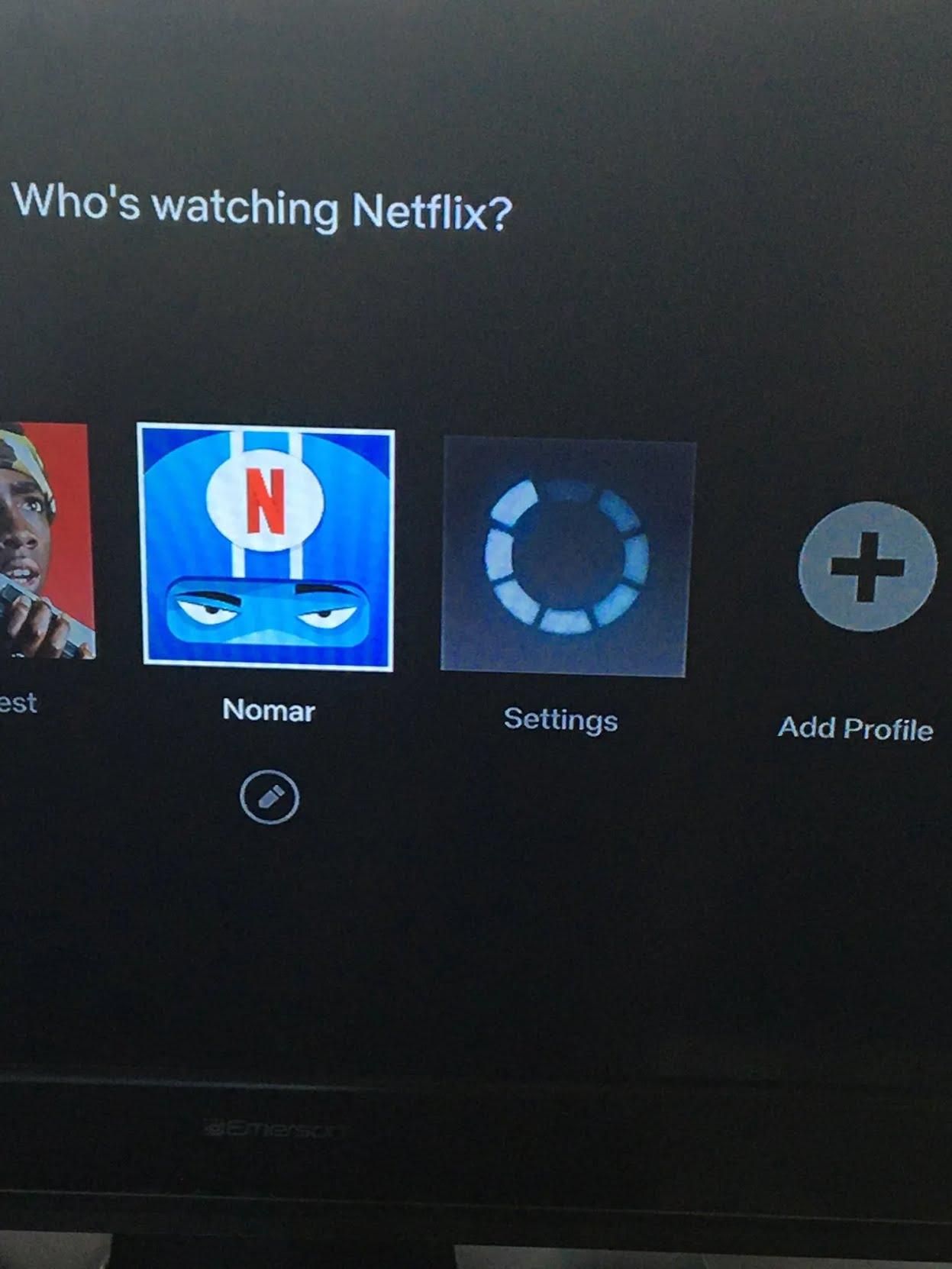 Замаскированный аккаунт в Netflix