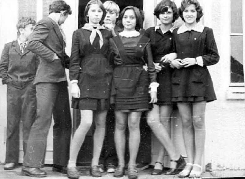 Мода на мини-юбки в СССР началась в 60-х
