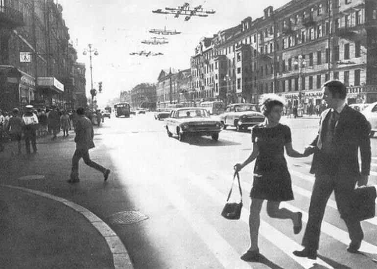 Мини-платье как повседневная одежда в СССР