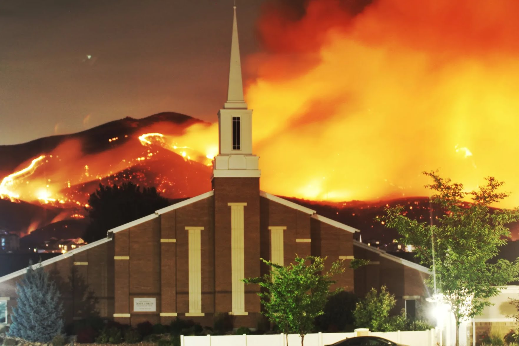 Пожежа в штаті Юта, США