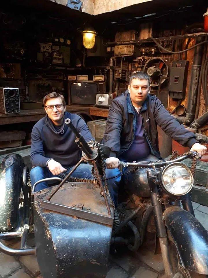 Вадим Вовченко и Александр Рындюк