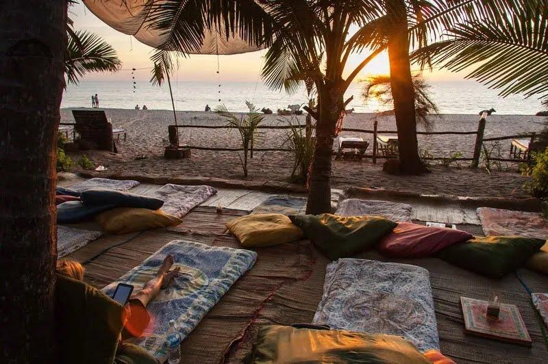 Пляж Агонда в Гоа