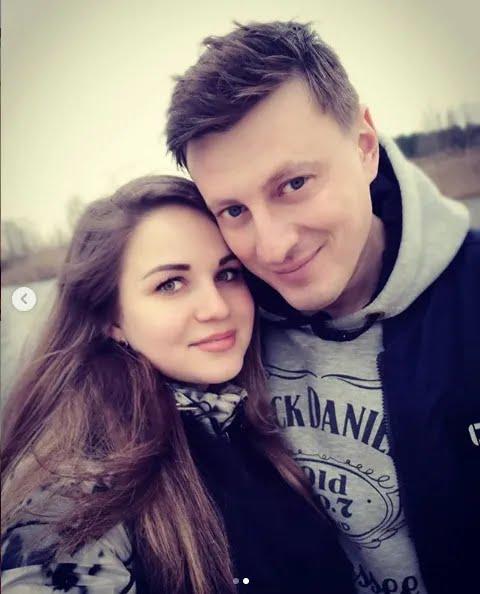 Александра с мужем Вадимом