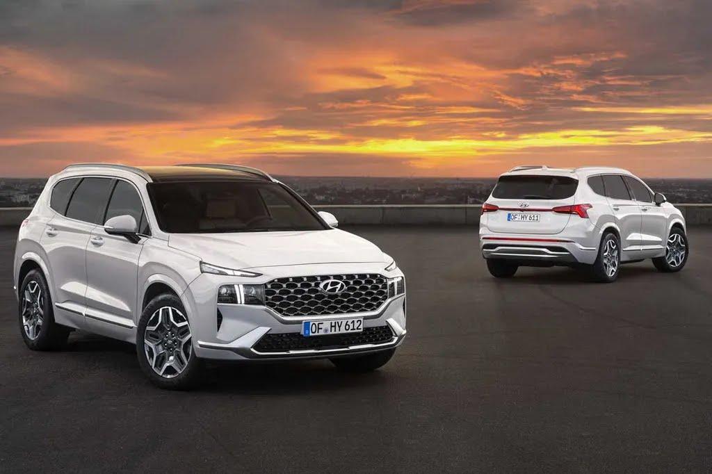 2021 Hyundai Santa Fe. Фото: