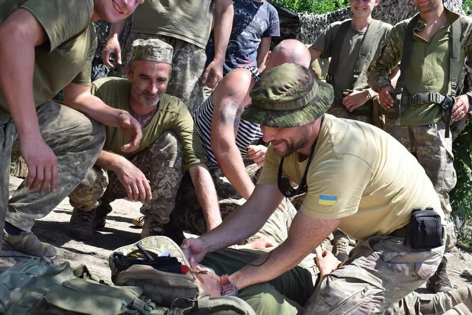 В засаде оккупантов 13 июля погиб военный медик Николай Илин.