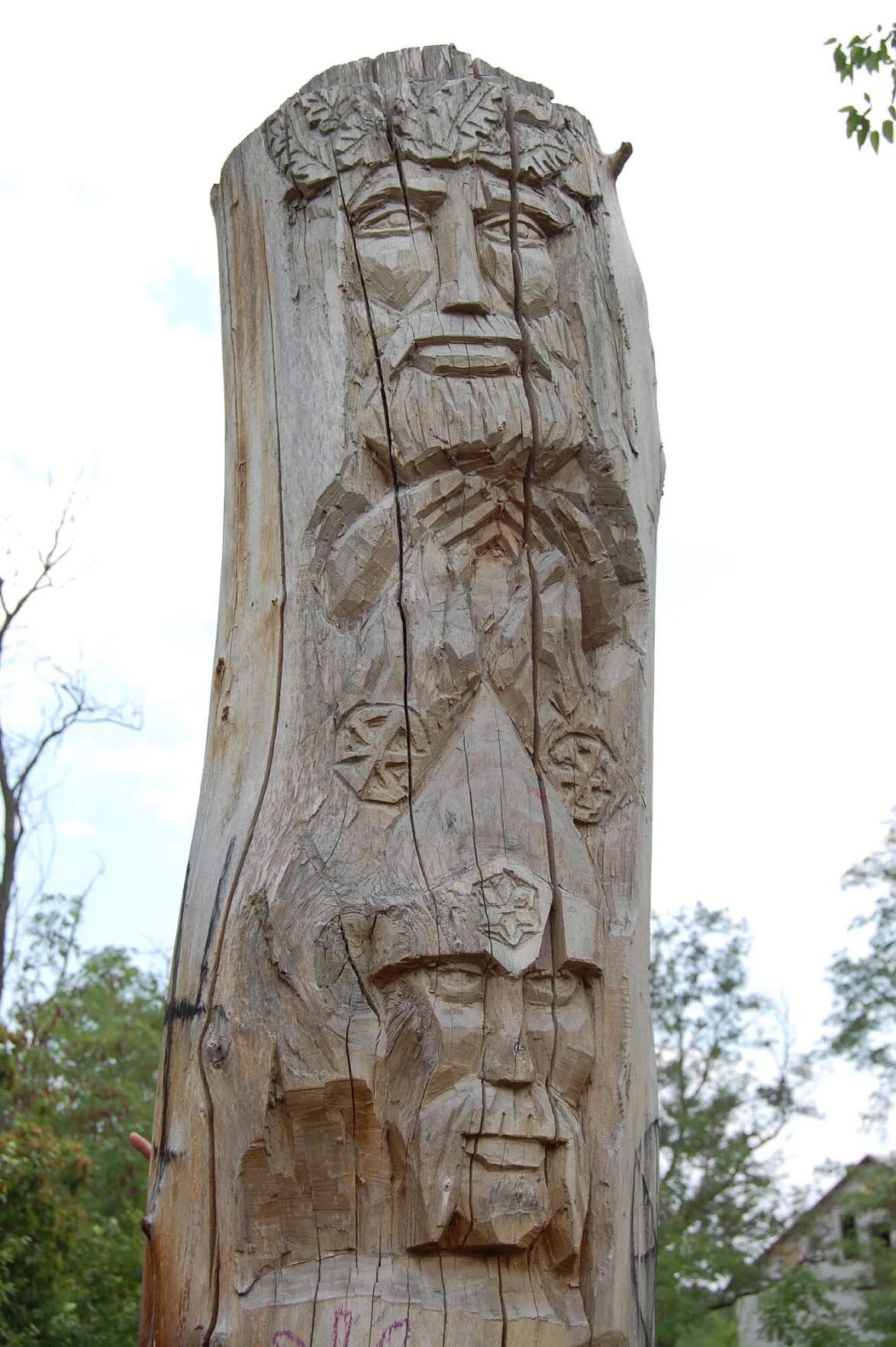 Ідол Перуна в Дніпропетровській області