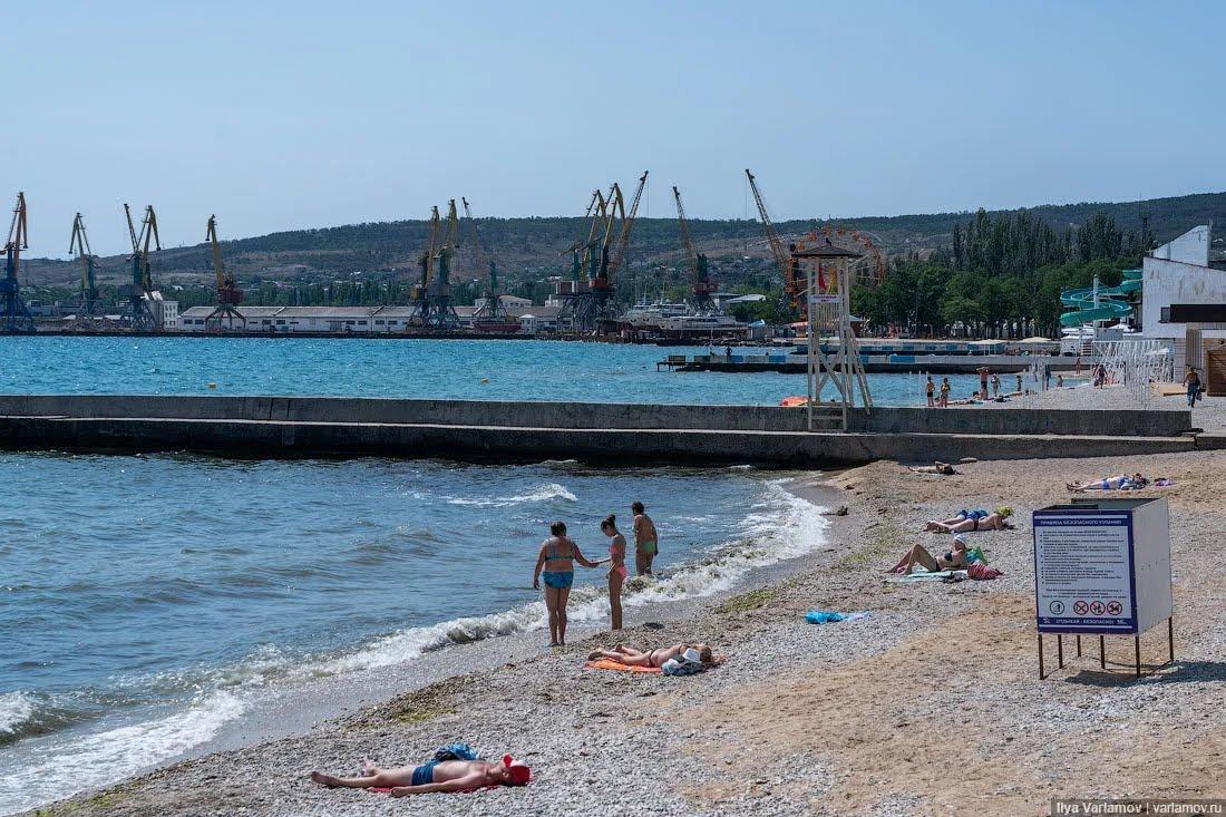 Как проходит туристический сезон в аннексированном Крыму