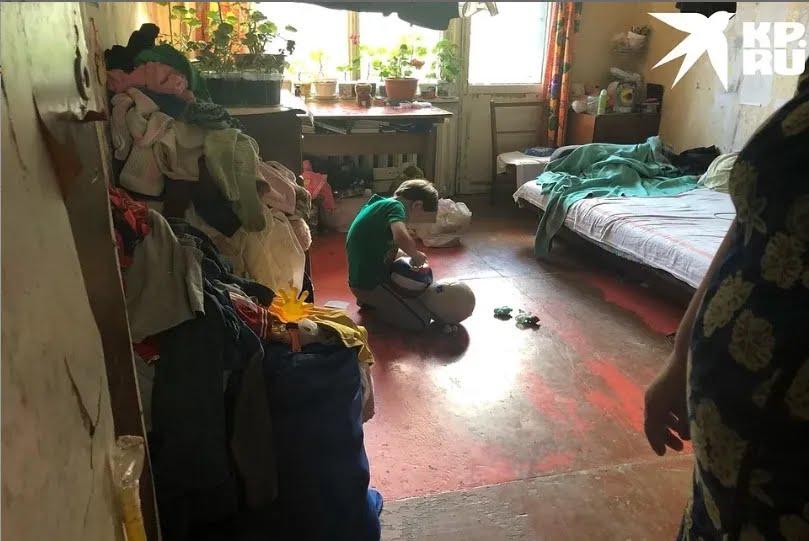 Квартира Любови, в которой она живет с детьми (фото – kp.ru)