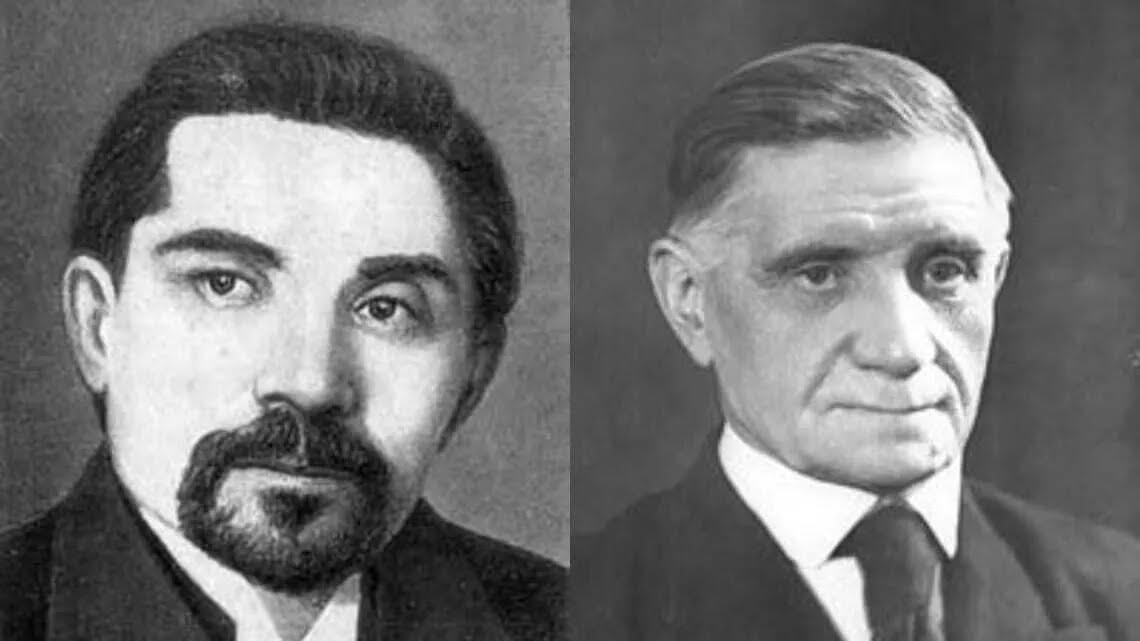 Леся Украинка и Климент Квитка