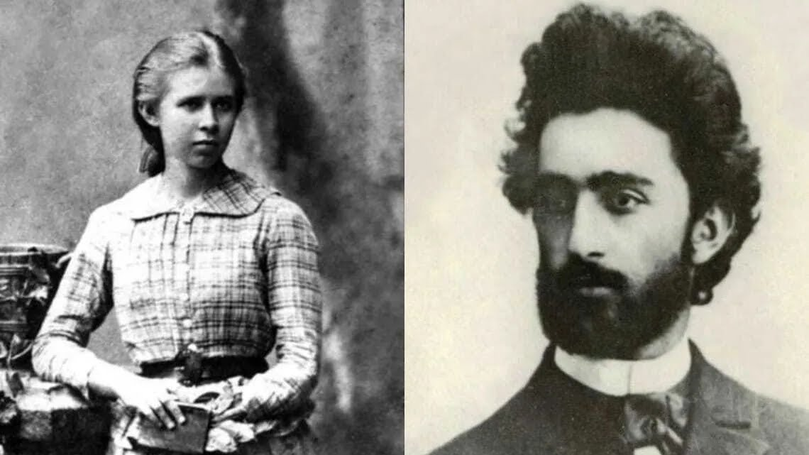 Леся Украинка и Нестор Гамбарашвили