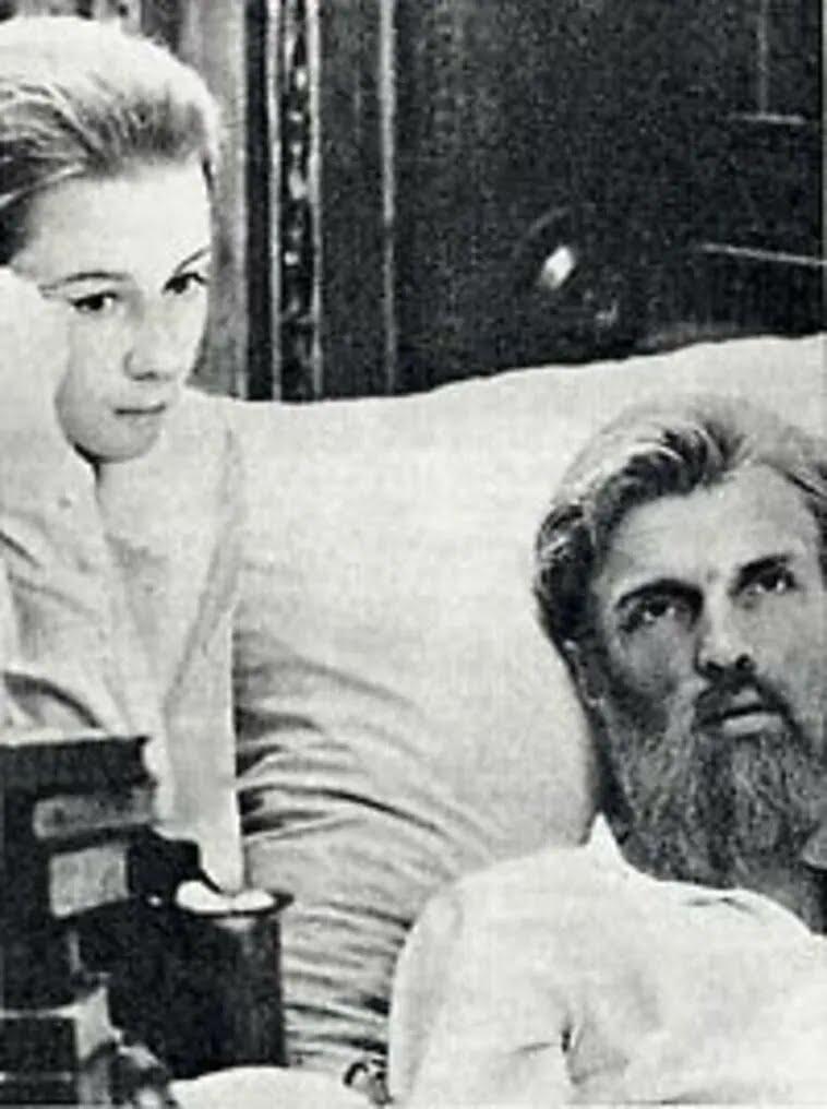 Леся Украинка и умирающий Сергей Мержинский
