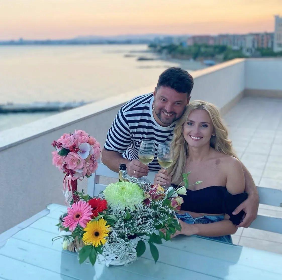 Федишин с мужем отправились в Болгарию