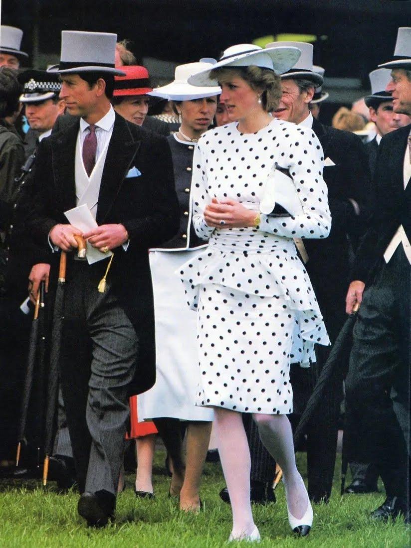 Принцесса Диана и ее платье в горошек