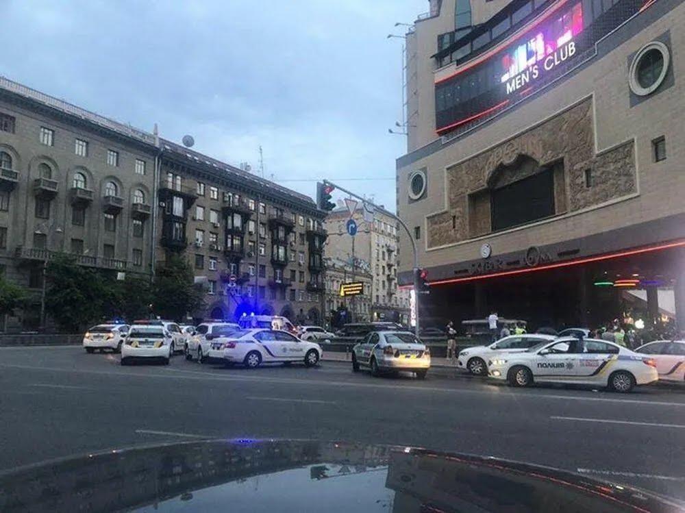 Вранці 4 липня в центрі Києва сталася бійка зі стріляниною
