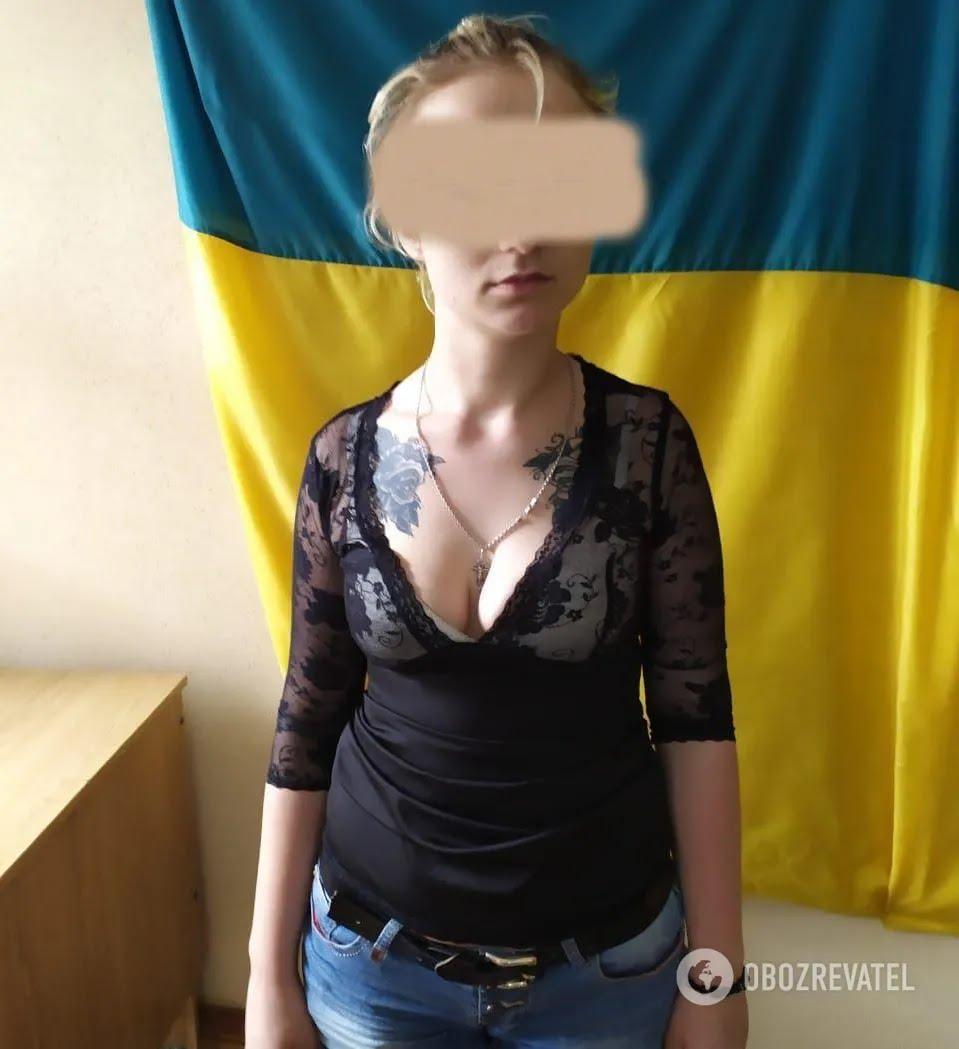 Серед затриманих поліцією була одна дівчина