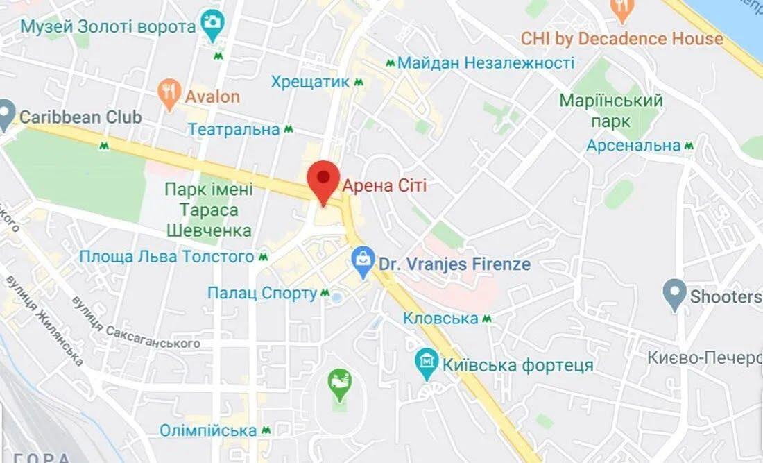 Бійка сталася в центрі Києва на Бессарабці