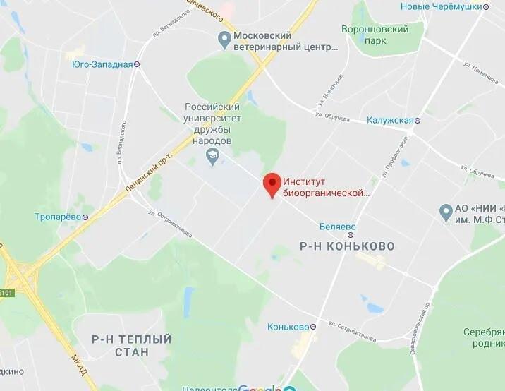 Горела крыша Института биоорганической химии имени академиков Шемякина и Овчинникова.