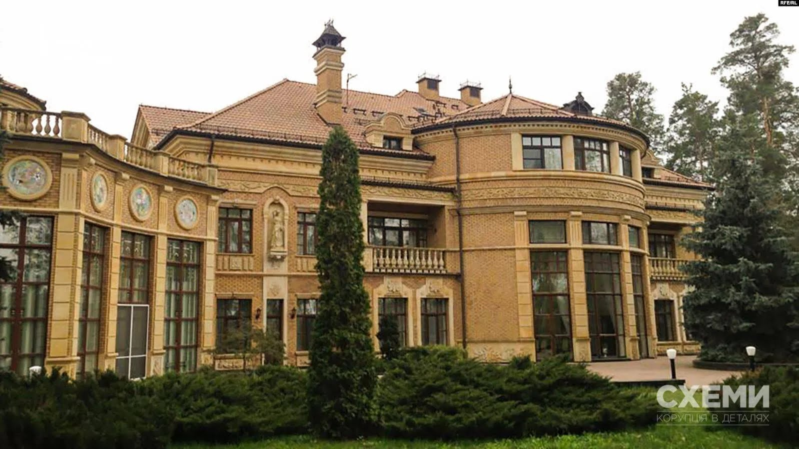 Дача, на которой проживает Владимир Зеленский