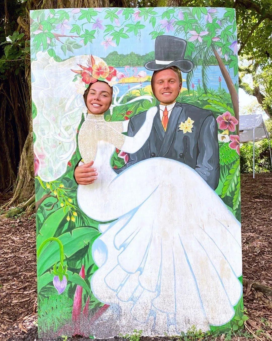 Седокова показала свадебное фото