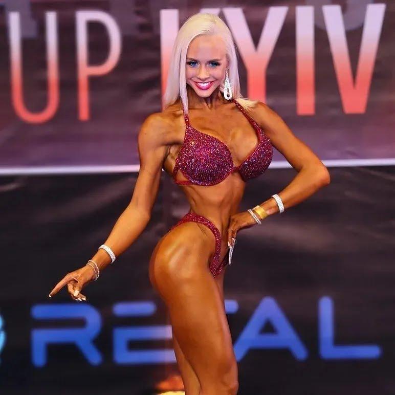 София Колодий во время соревнований