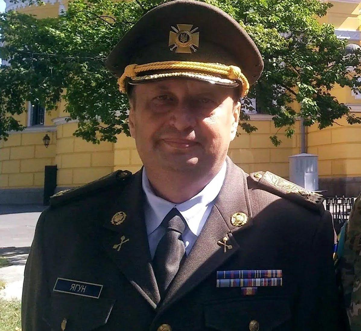 Экс-замглавы СБУ, генерал-майор Виктор Ягун.
