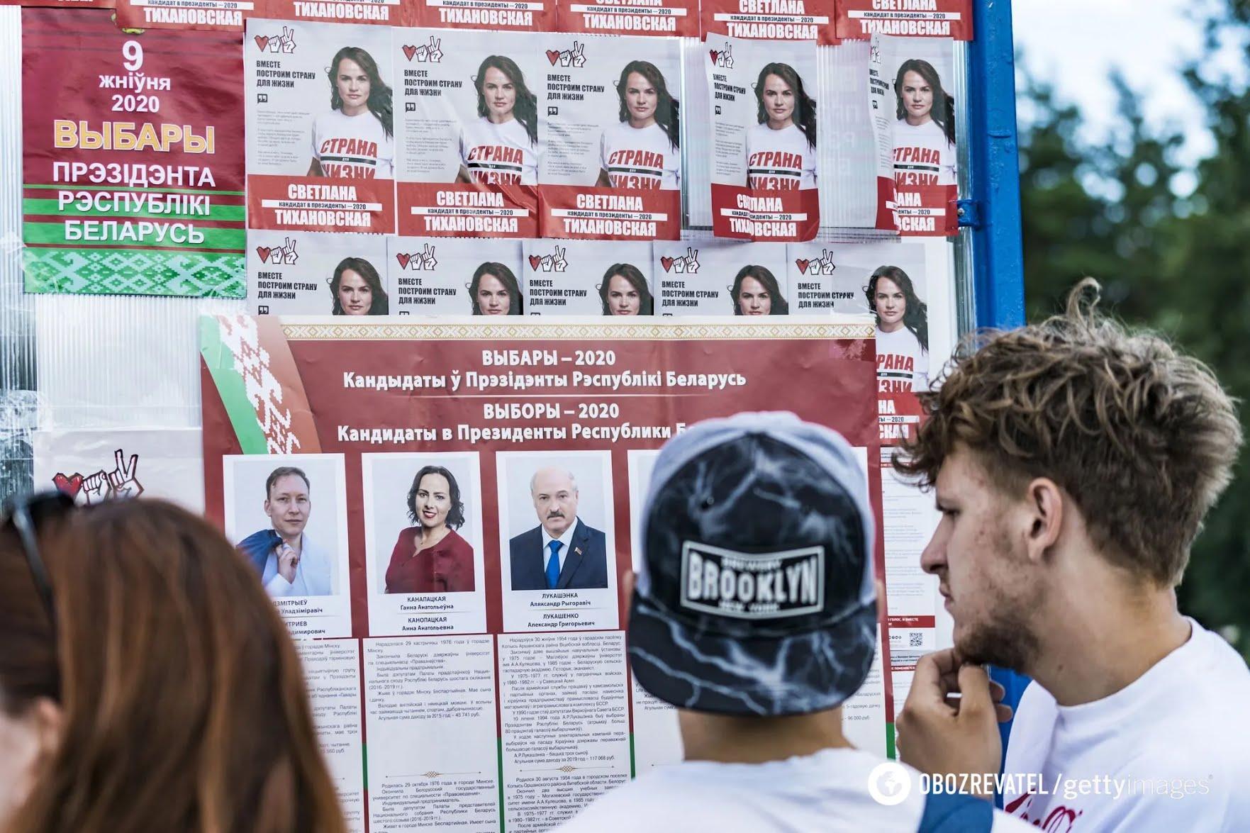 Выборы президента Беларуси состоятся 9 августа