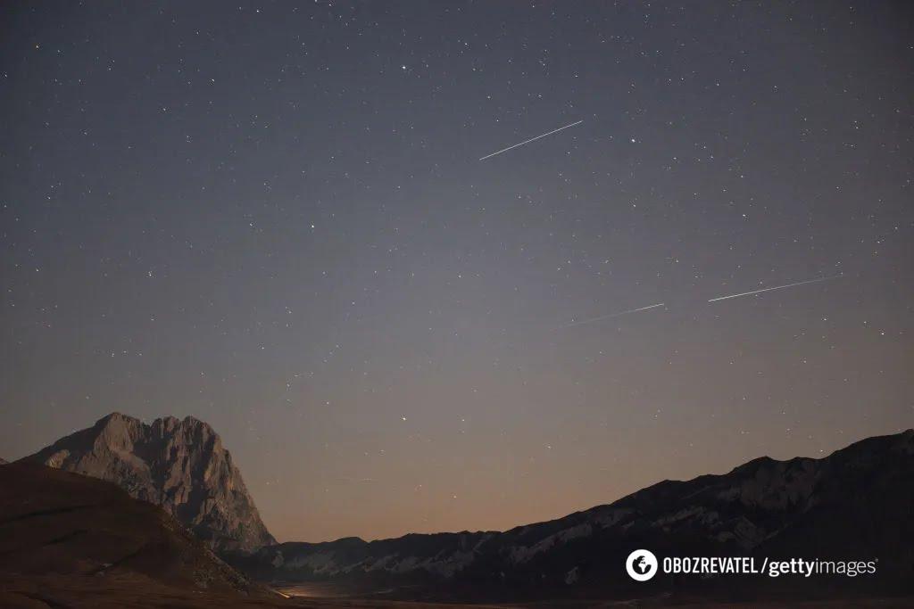 Метеоритний потік Персеїди
