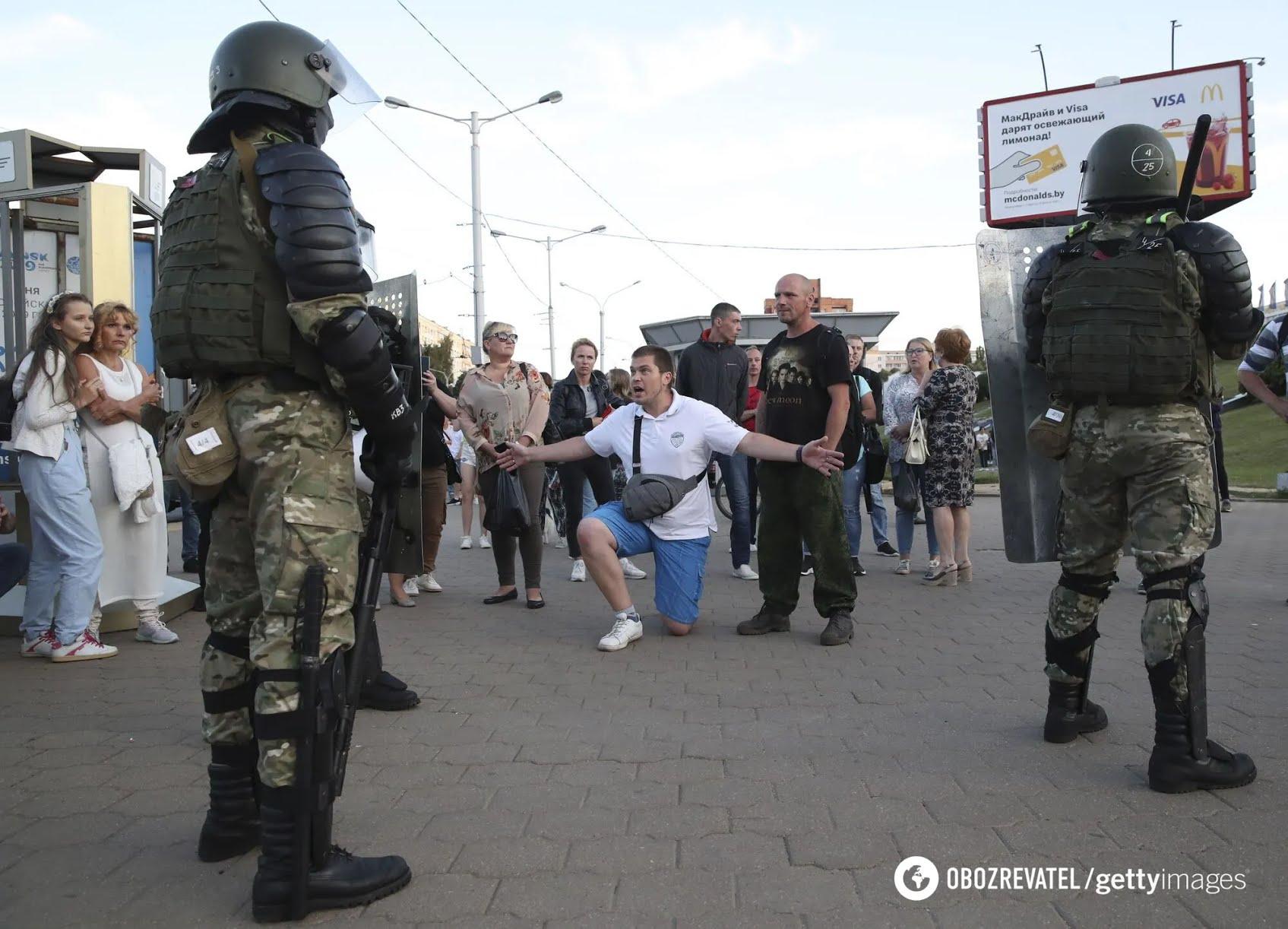 Протести в Білорусі