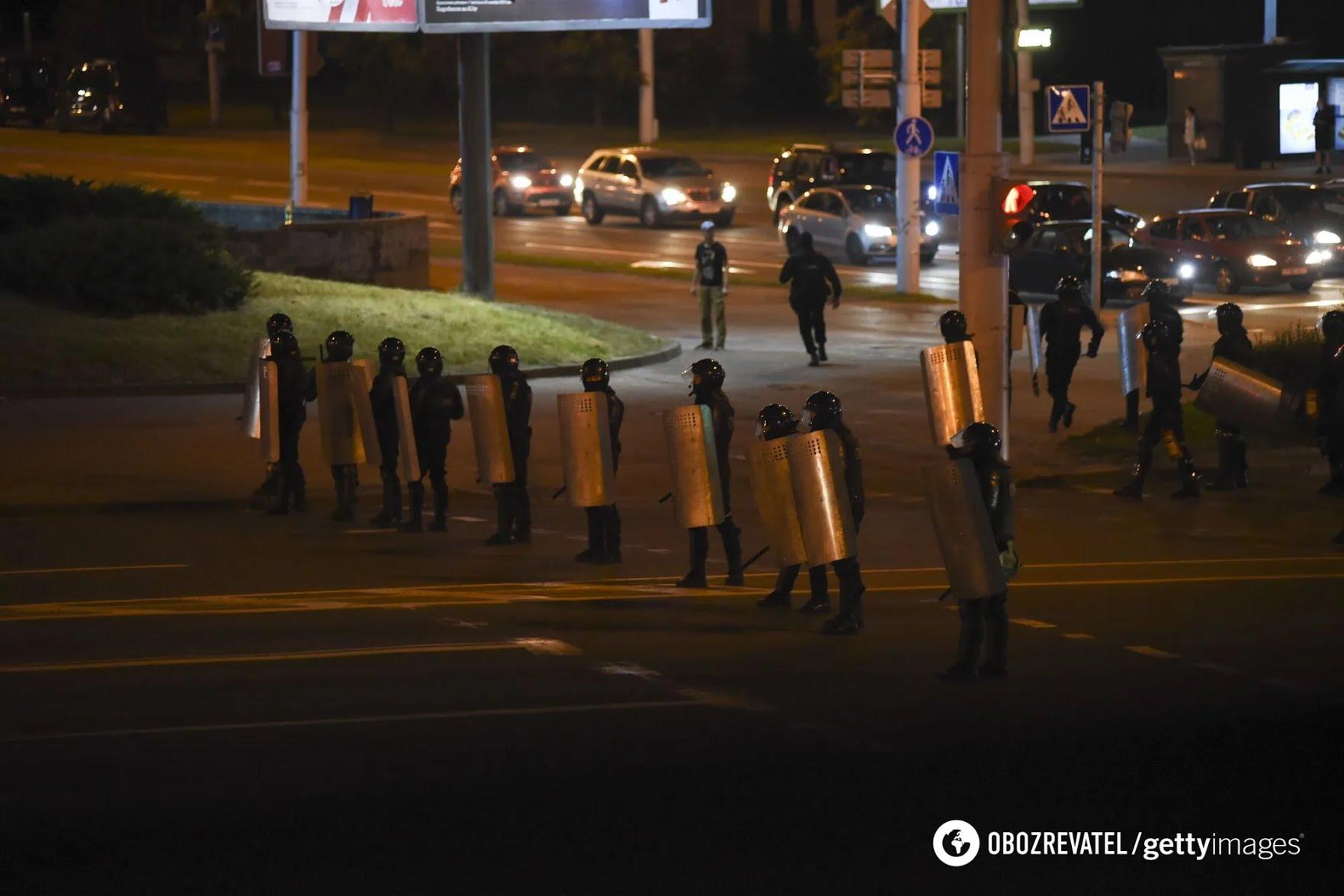 Протесты в Минске 11 августа