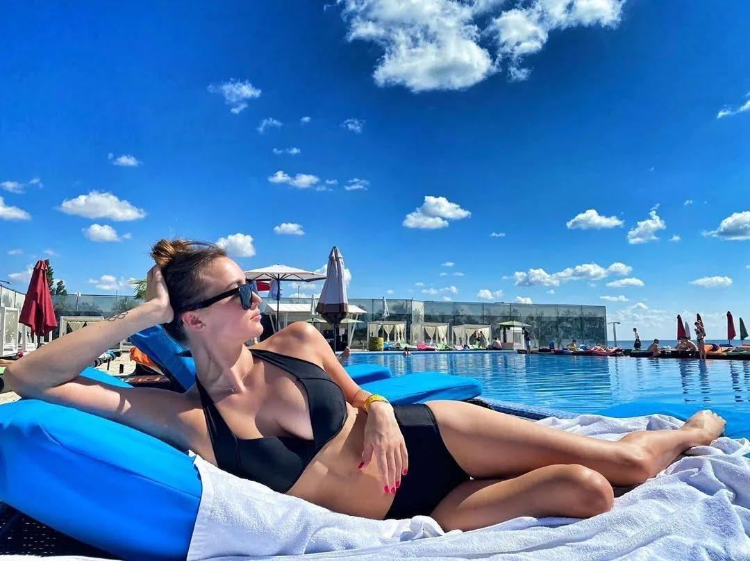 Анна Різатдінова на відпочинку в Одесі