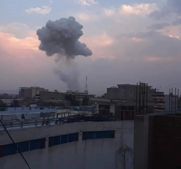 У Джелалабаді прогримів вибух.