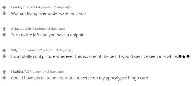 Пользователи восхитились подводным снимком девушки