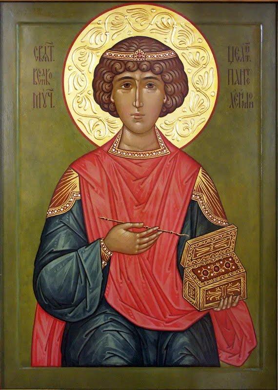 Великомученик Пантелеймон цілитель (фото – azbyka.ru)