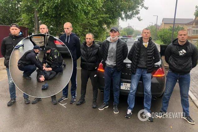 Задержаны 11 участников перестрелки в Броварах