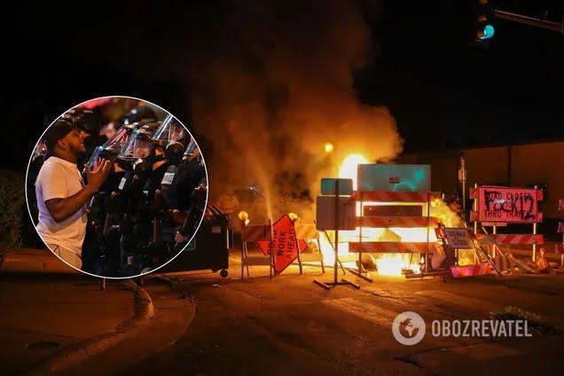 Протестующие устроили хаос в американских городах
