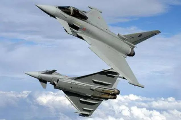 Британские истребители перехватили российский военный самолет