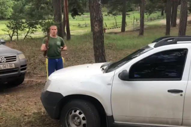 Напад на авто