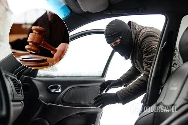 У судьи Хозсуда Киева похитили элитное авто