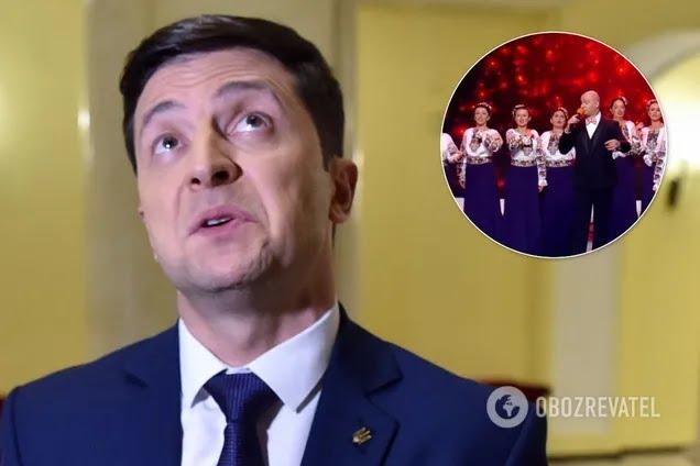 Зеленский отреагировал на скандал вокруг хора Веревки