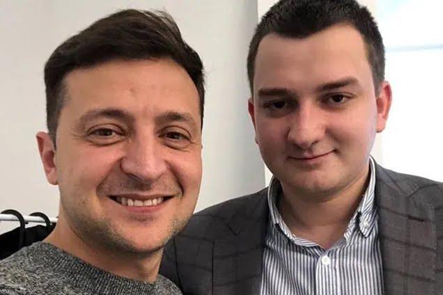 Президент України Володимир Зеленський і Михайло Ананченко