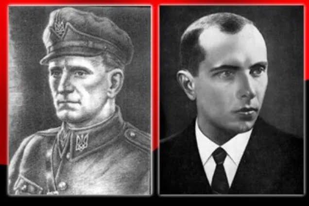 Иллюстрация. Шухевич и Бандера