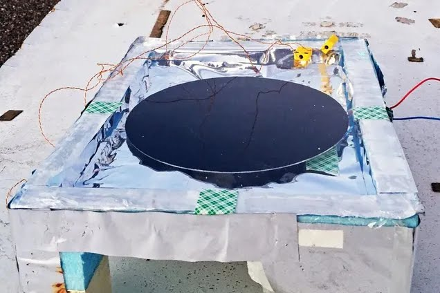 Тестовый прототип изобретения Аасвата Рамана