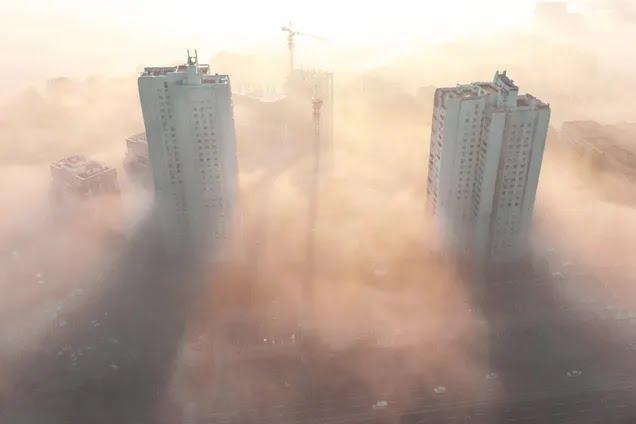 Туман в Днепре
