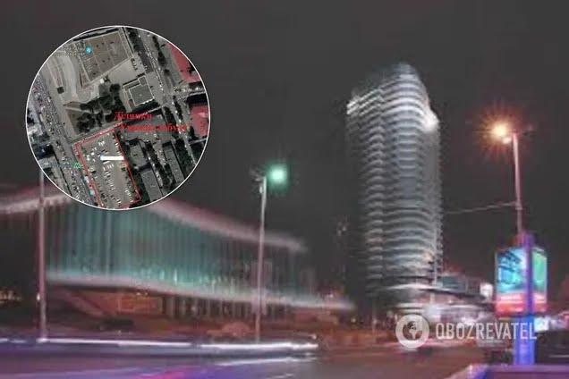 """У """"Дворца Украина"""" построят 100-метровый небоскреб"""