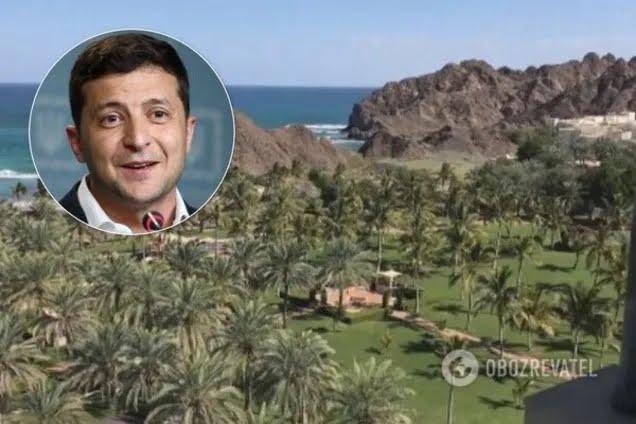 Зеленский летал в Оман за частные средства
