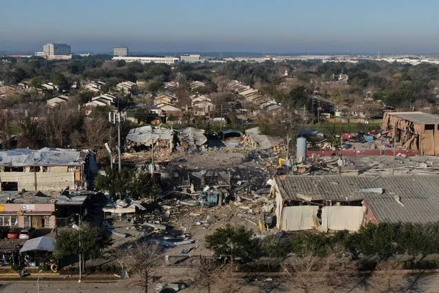 Взрыв в Хьюстоне