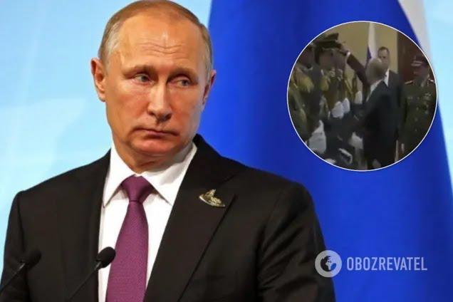 """Росіяни потролили """"подвиг"""" Путіна з кашкетом"""